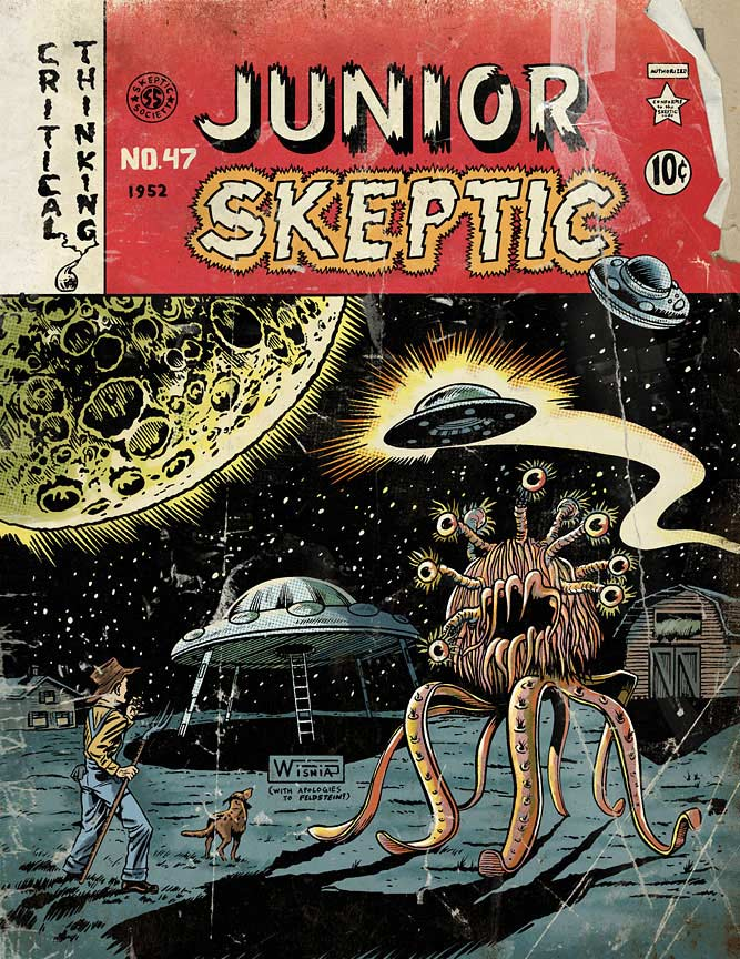 Junior Skeptic 47: Alien Invaders!
