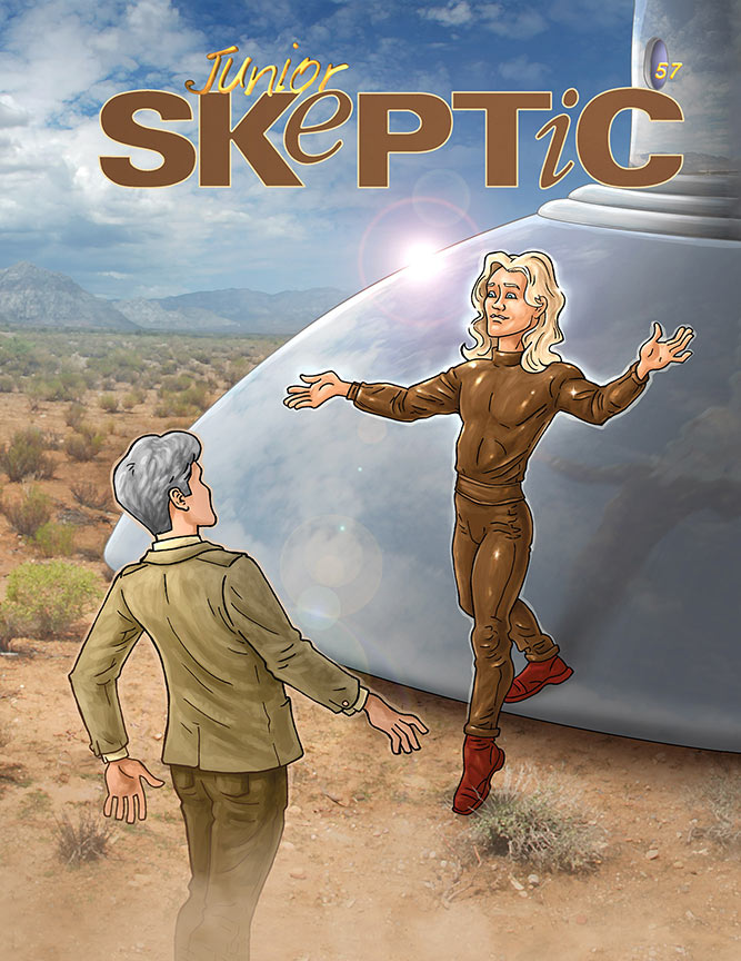 Junior Skeptic 57: Space Brothers from Venus