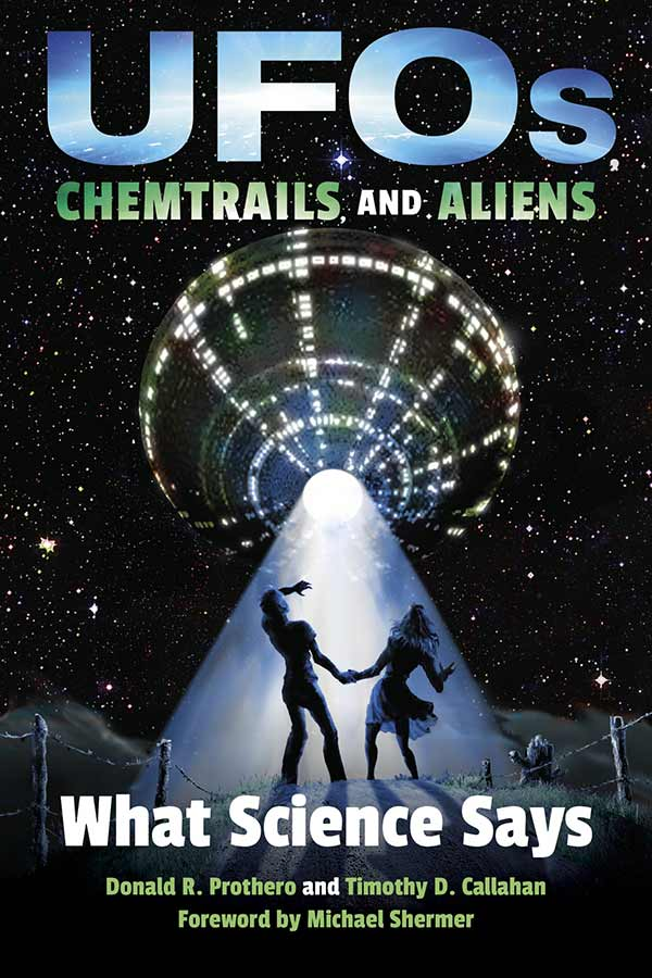 UFOs, Chemtrails, and Aliens: What Science Says (book cover)