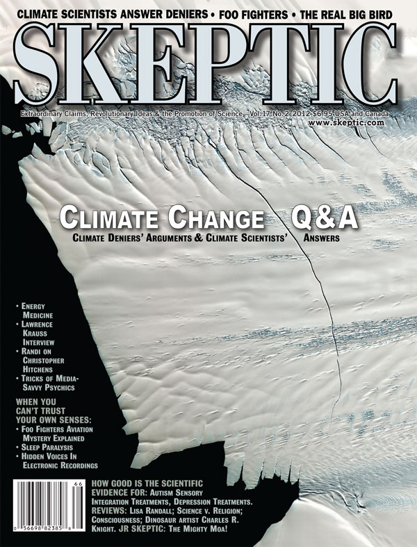 Skeptic magazine, vol 17, no 2 (cover)