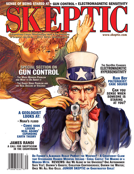 Skeptic magazine 18.1 (The Mass Murder Problem)