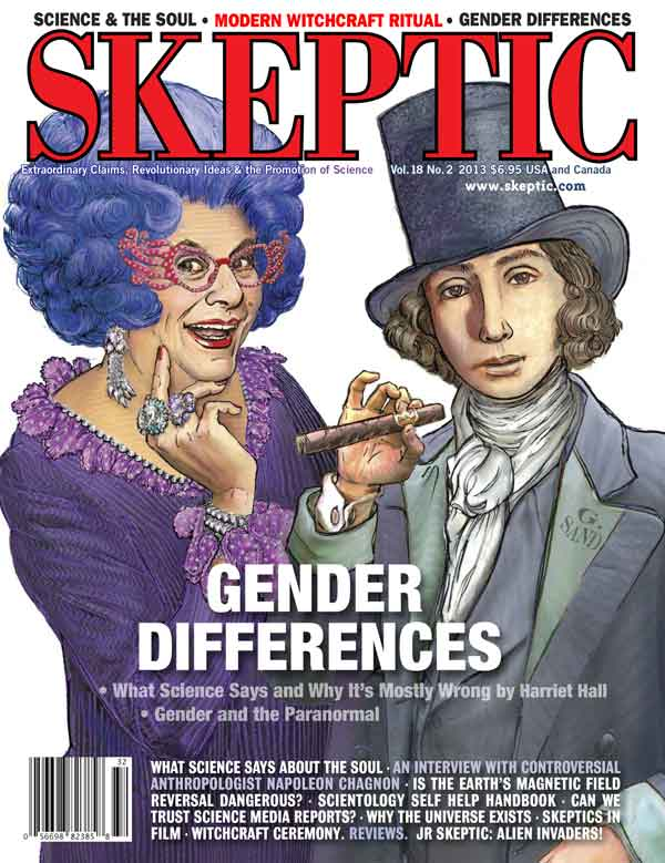 Issue 18.2: Gender Differences (cover)
