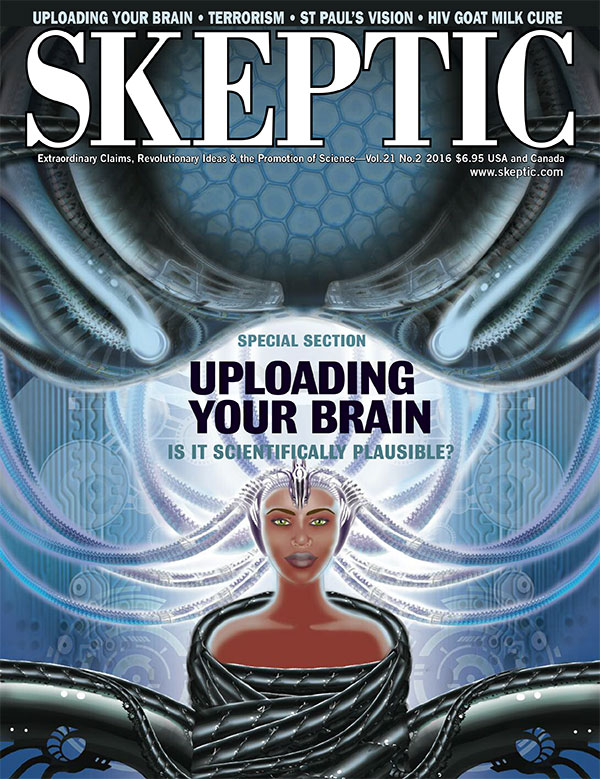 Skeptic magazine, vol 21, no 2 (cover)