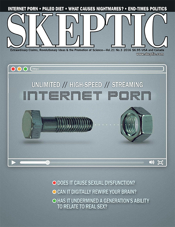 Skeptic Magazine 21.3 (cover)