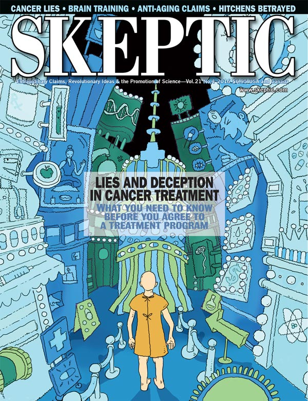 Skeptic magazine, vol 21, no 4 (cover)