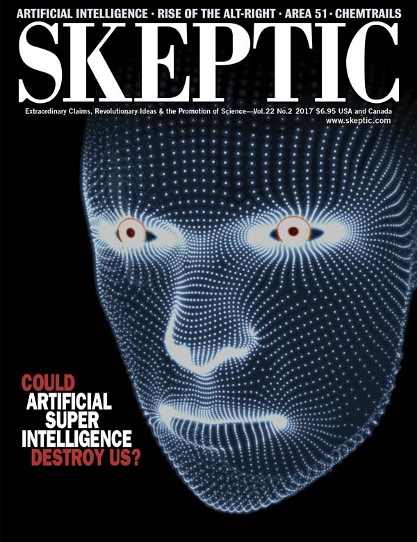 Skeptic magazine, vol 22, no 2 (cover)
