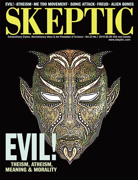 Skeptic magazine, vol 23, no 1 (cover)