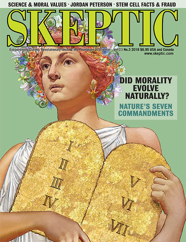 Skeptic magazine, vol 23, no 3 (cover)