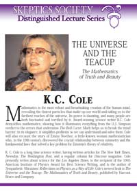 The Universe and the Tea Cup, by K.C. Cole