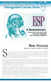 An ESP Demonstration, by Bob Steiner
