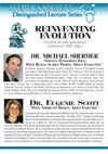 Reinventing Evolution (part I), with Eugenie Scott and Michael Shermer