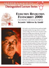 Festschrift 2000 for Stephen Jay Gould: Part III