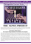 The Great Banachek and the Alpha Project, by Banachek