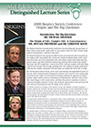 Origins & The Big Questions: Conference 2008. Part 1