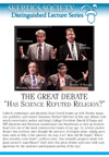 The Great Debate: Has Science Refuted Religion?