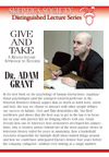 Give and Take, by Dr. Adam Grant