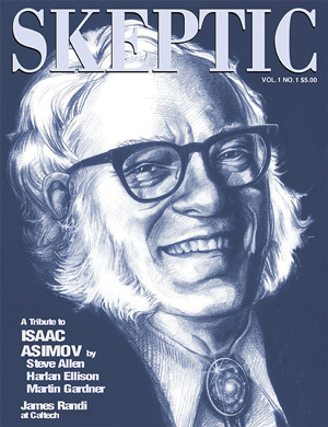 Vol. 1 No.1 (Premiere Issue) Tribute to Isaac Asimov