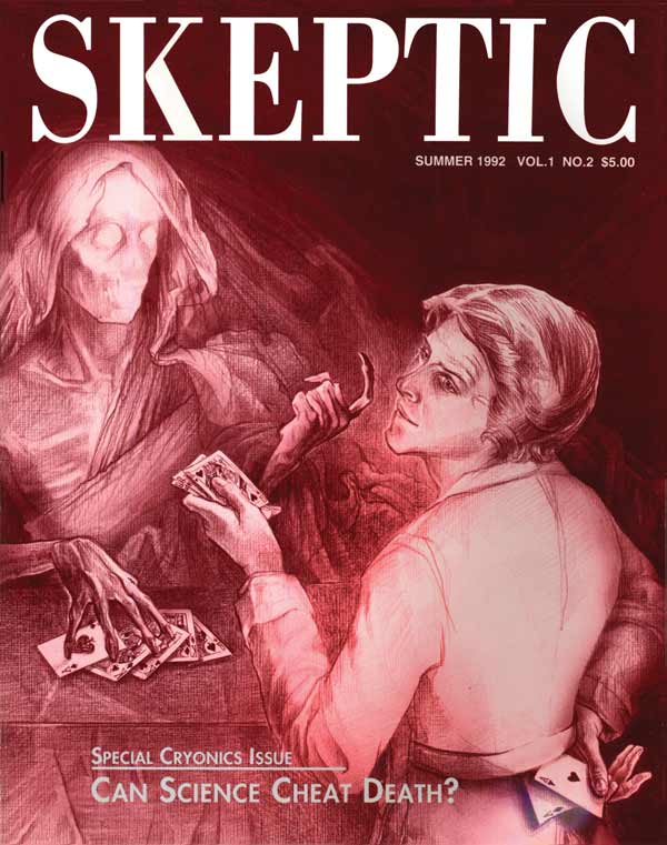 Skeptic Magazine issue 1.2 (cover)