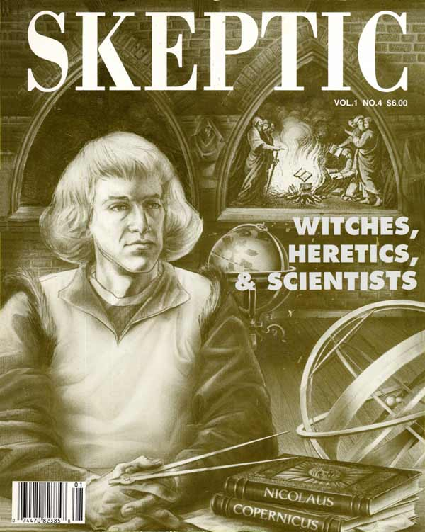 Skeptic magazine 1.4 (cover)
