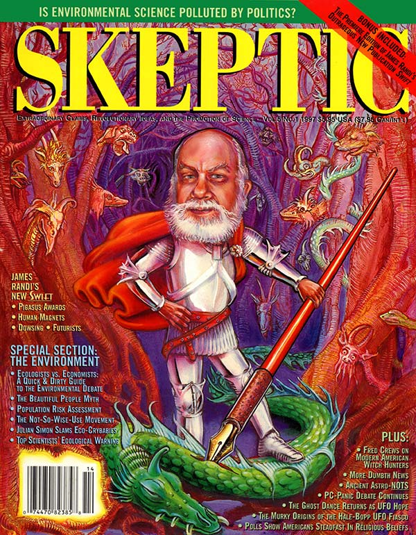 Skeptic magazine issue 5.1 (cover)