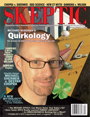 Skeptic magazine Volume 13 Number 4