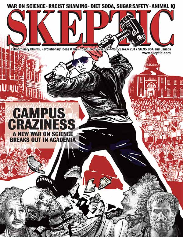 Skeptic magazine, vol 22, no 4 (cover)