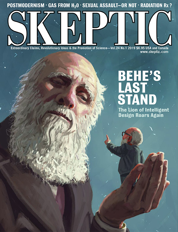 Skeptic magazine, vol 24, no 1 (cover)