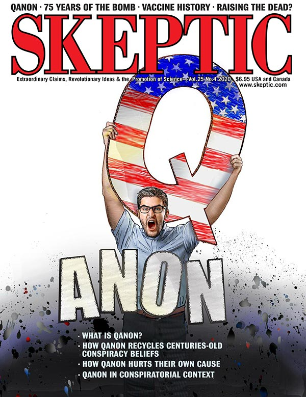 Skeptic Magazine 25.4 (cover)