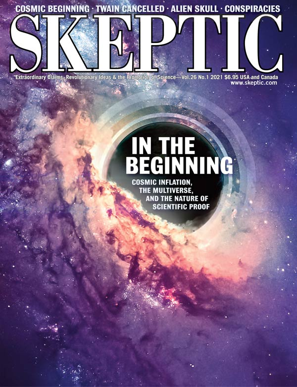 Skeptic 26.1 (cover)