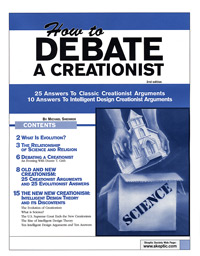 How to Debate a Creationist (2nd. Ed.), by Michael Shermer