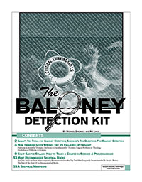 Baloney Detection Kit, by Michael Shermer and Pat Linse
