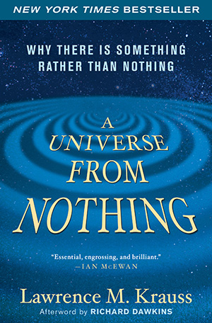 A Universe from Nothing (book cover)