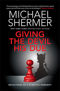 Giving the Devil His Due (autographed 1st edition), by Michael Shermer