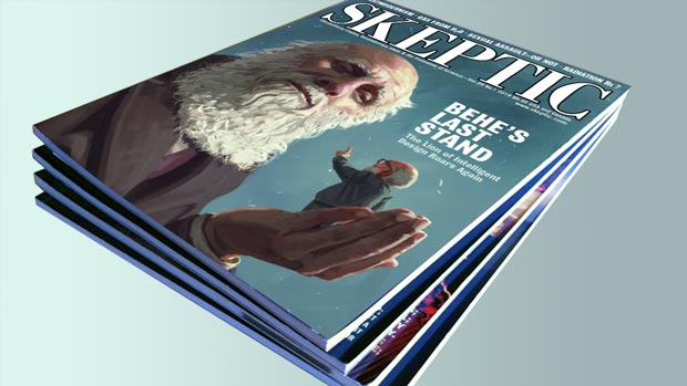 Skeptic magazine stack of 4 issues